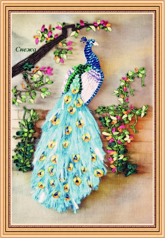 New design cm diy d peacock flowers