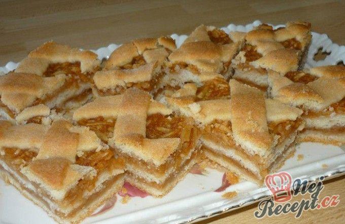 Jablečný mrežovník - recept ještě od mé babičky
