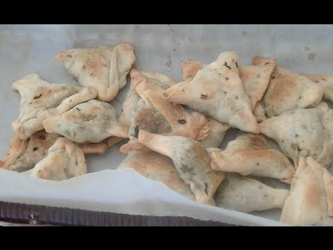 Baked Spinach Samosas Recipe | Indian Appetizer recipe