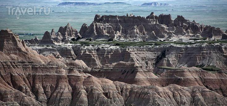 Южная Дакота: фотографии национального парка Badlands