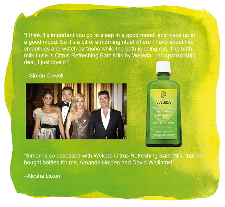Simon Cowell loves Citrus Bath Milk so much he bought some for his fellow #xfactor judges including Alesha Dixon!   #xfactor #natural #skincare
