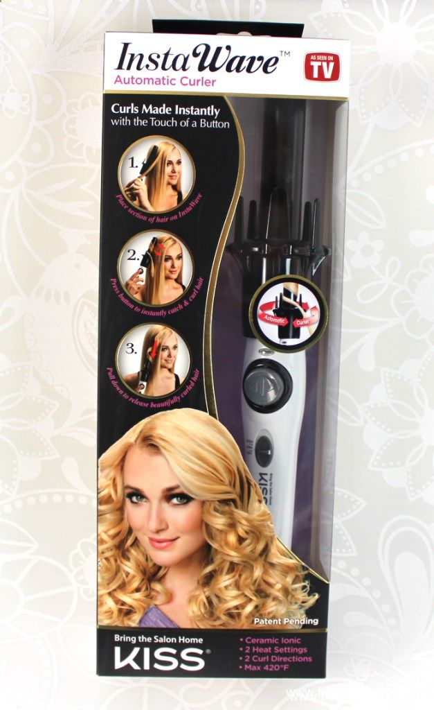 Kiss InstaWave Automatic Hair Curler Review