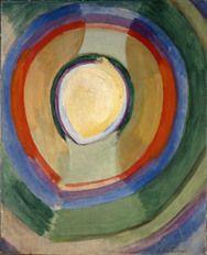 Robert Delaunay, Formes circulaieres, Lune No 2, 1913