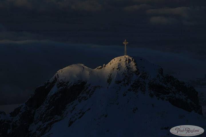 Tatry zima - styczeń 2013 roku na Giewoncie wieczór