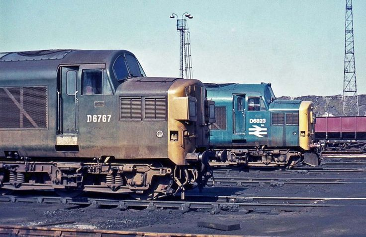 Railway Herald :: Imaging Centre :: D6767 at Thornaby MPD