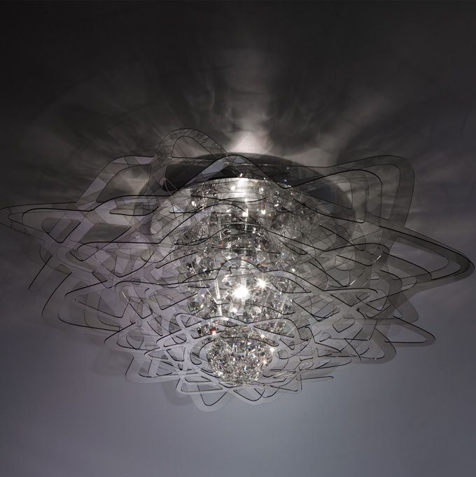 Aurora. Luminarias de la firma italiana SLAMP