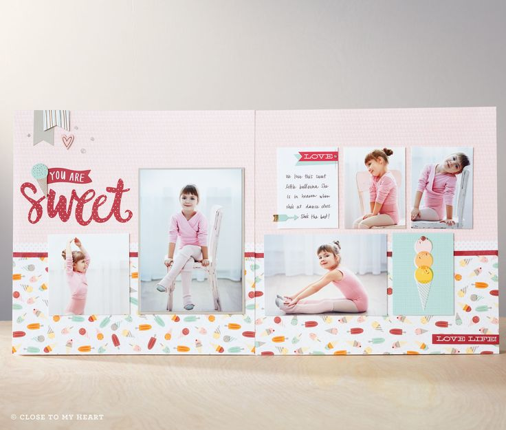 NEW! Sugar Rush paper pack from Close To My Heart. Available at www.claudia.closetomyheart.com