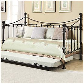 Best Quinn Metal Twin Daybed With Trundle At Big Lots For 400 x 300