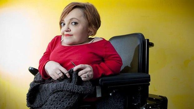 Comedian and activist Stella Young says DisabilityCare, the name for the National Disability Insurance Scheme, is paternalistic and disempowering.