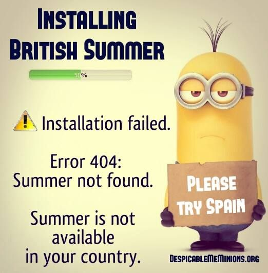 Funny Summer Quotes - Installing british summer