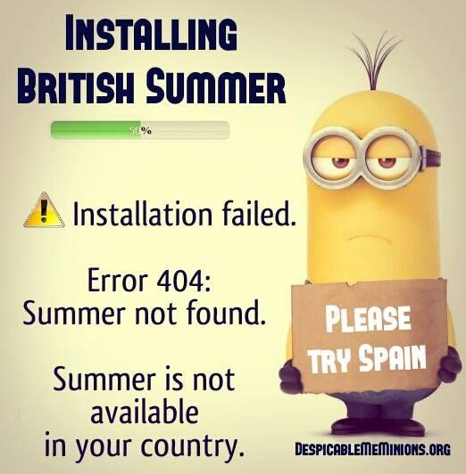 Funny Summer Quotes - Installing british summer