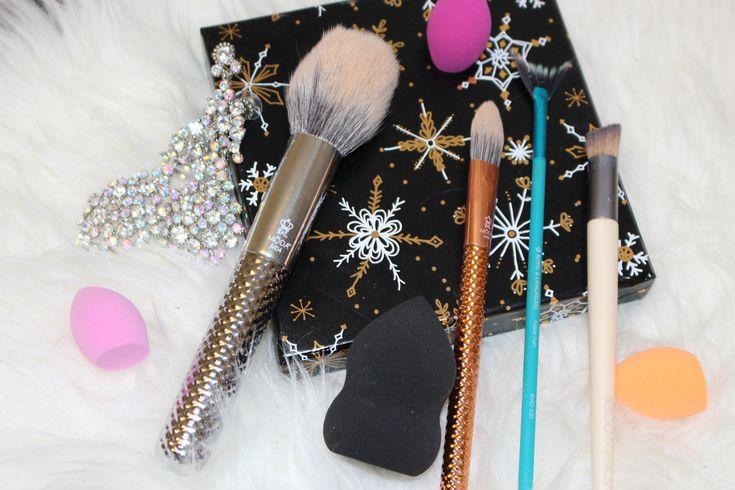Some of My fav vegan makeup brushes! Eco-tools and Royal & Langnickel. #vegan #makeupbrushes #crueltyfree