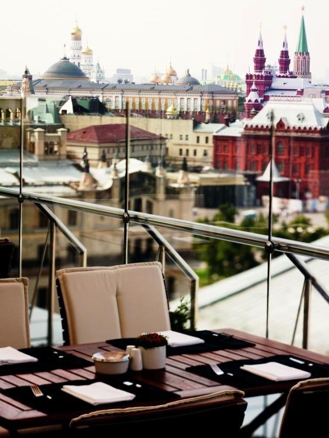 Luxury Hotel Design- International Hotel Awards Winner Ararat Park Hyatt Moscow