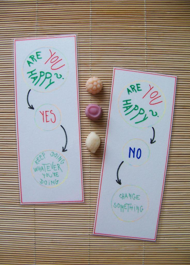 Handmade motivational bookmarks by Lady Lu