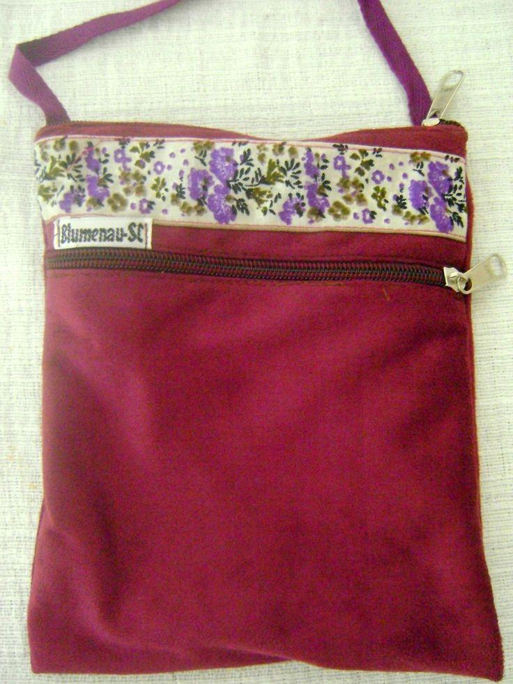 Bolsa De Tecido Feita Com Nós : Pequena bolsa tiracolo feita em tecido medidas