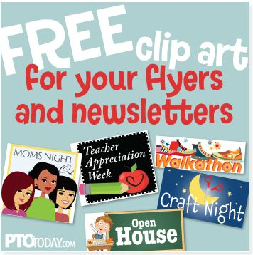 Get our free clip art to jazz up your communication to parents!