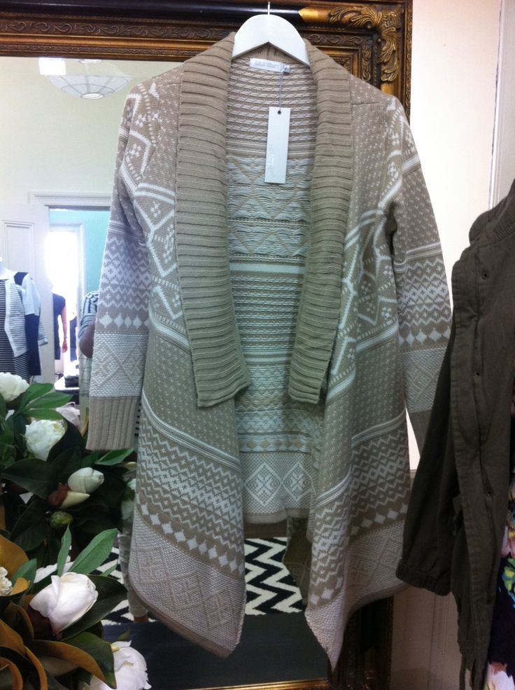 Snuggle up in this gorgeous Aspen Oversized Cardigan $70, only 1 x L left www.facebook.com/theweekendedit