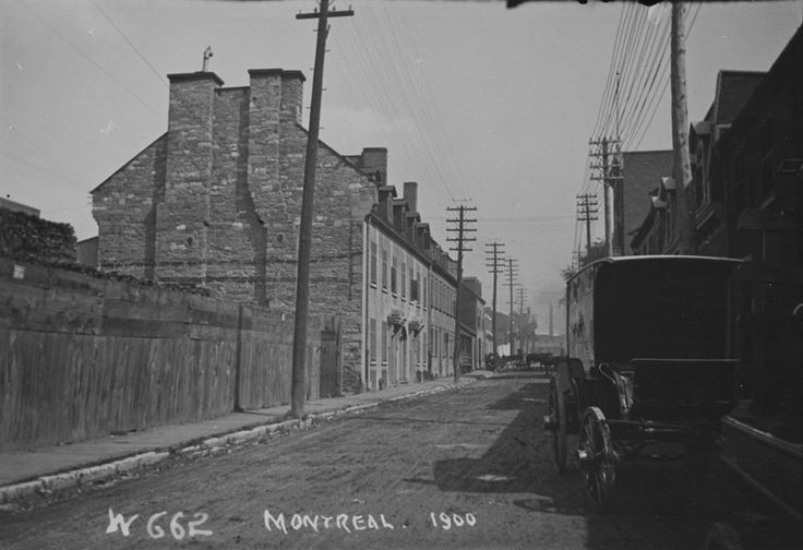 Photographic view of Montreal  ca 1900