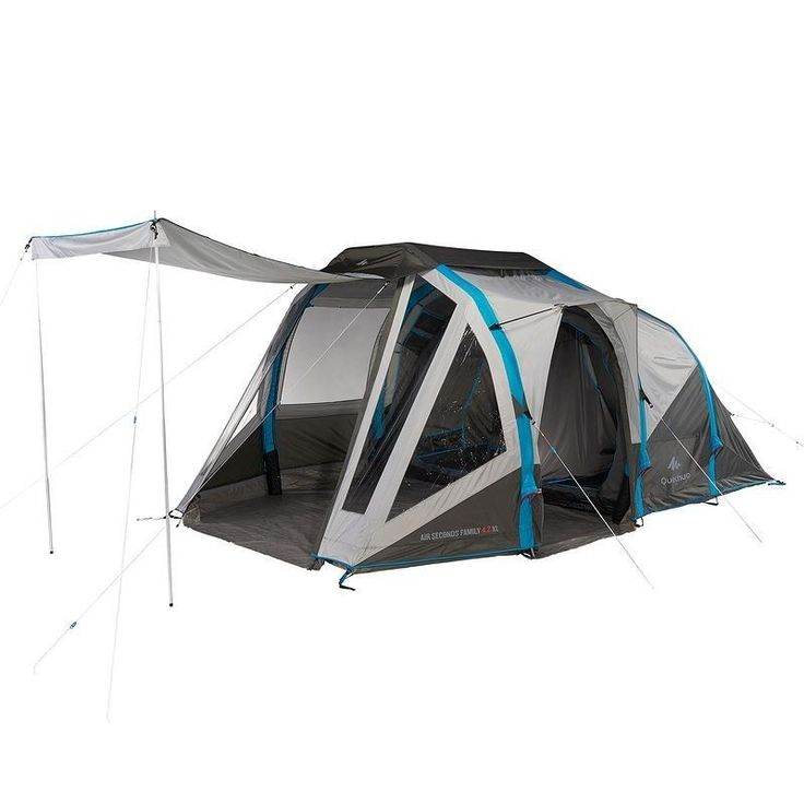 Tente Gonflable AIR SECONDS FAMILY 4.2XL - 4 personnes, 2 chambres
