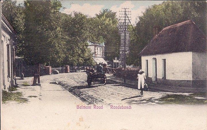 Belmont Road, Rondebosch, c1908
