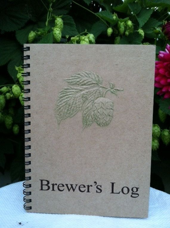 Best Log Book Images On Pinterest Craft Beer Home Brewing