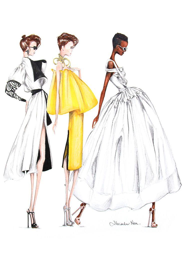 Mercedes Benz Fashion Week Australia 2016 - Alexandra Nea