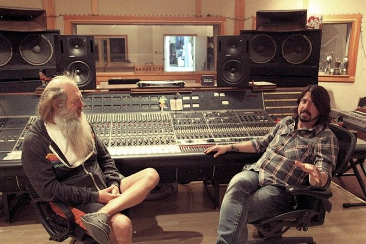 Rick Rubin and Dave Grohl