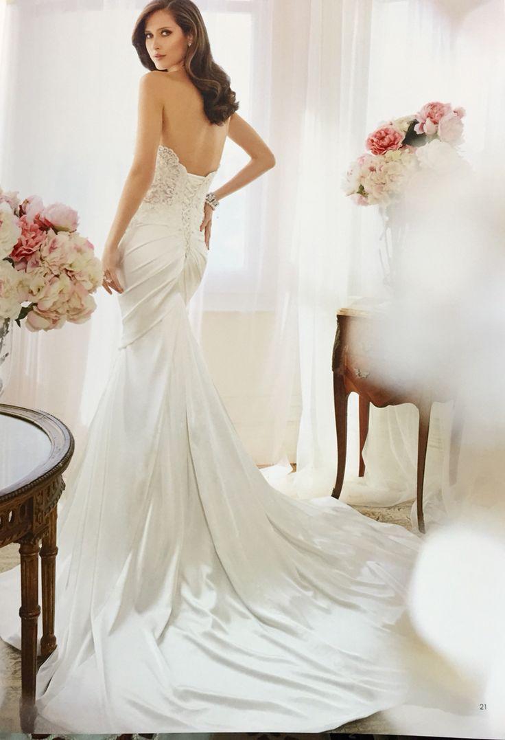 Sophia Tolli Australia Name Palila Back Side Shimmer Satin And Cute Dressesbridal