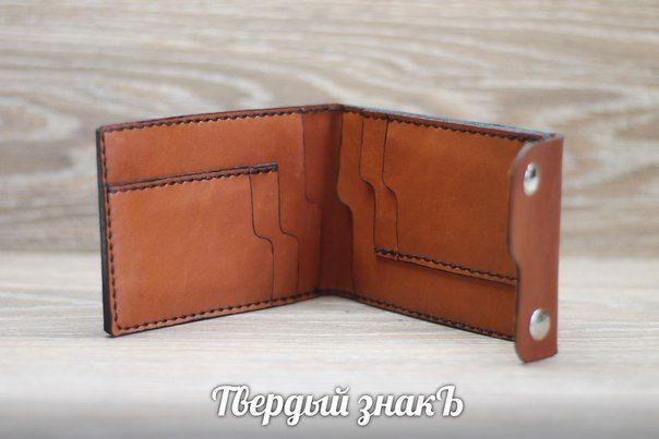 #leatherwallet #TheHardSign #leathercraft www.h-sign.ru www.thehardsign.com
