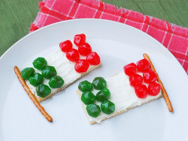 Banderas Mexicanas con Fruit Gushers™