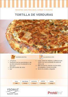 Recetas de Dieta   Tortilla de Verduras