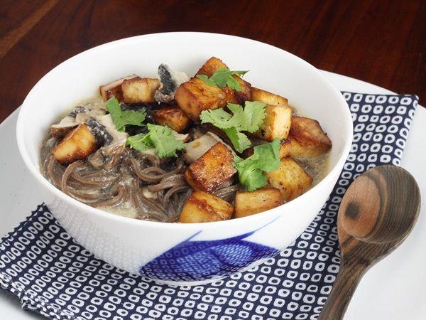 Thai Soba Noodle Bowl | foodie | Pinterest