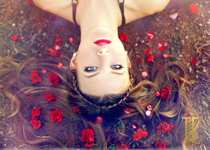 Senior Picture Ideas for Girls | Floral Crowns | sacramento senior pictures