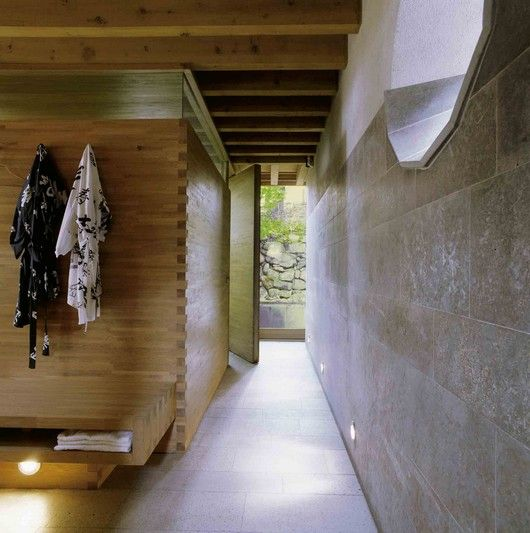 ingenious Swedes: no matter how tiny the house, they can always squeeze in a sauna