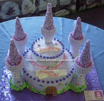 92 best princess party images on pinterest | princess castle cakes