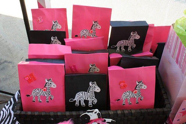 Zebra Birthday Party | A to Zebra Celebrations