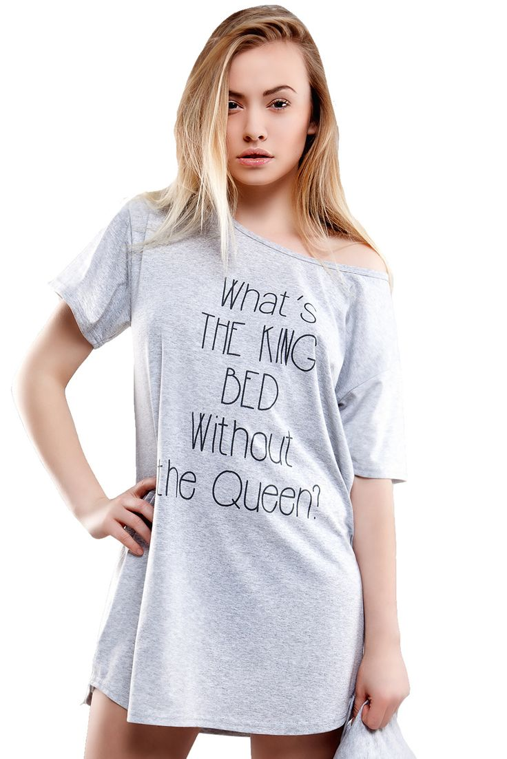 What's the king bed without the Queen #pyjamas #nightgown #nočníkošile