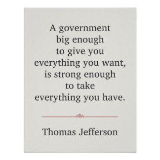 Thomas Jefferson Quotes | Thomas Jefferson Quote Posters & Prints