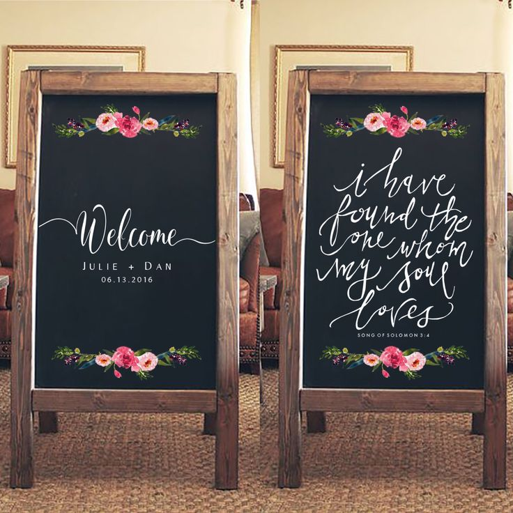 Rustic Wedding Sign - Welcome To Our Wedding Sandwich Board - I have Found the One Whom My Soul Loves