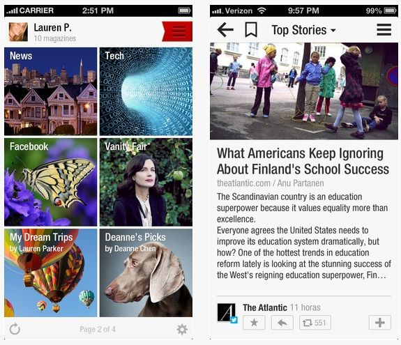 Flipboard update turns readers into magazine publishers | Internet & Media - CNET News