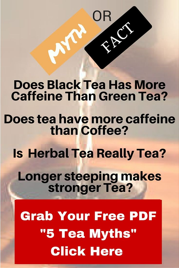 Does black tea have caffeine?