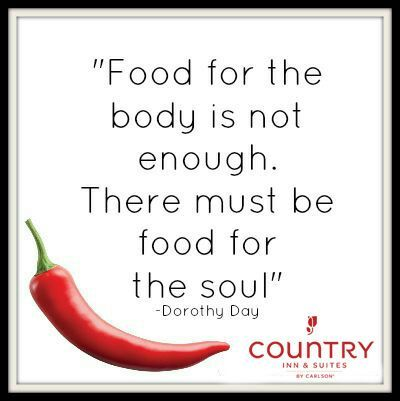"""We Believe """" #Food for the #body is not enough. There must be food for the #soul."""""""