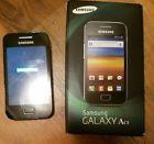 Samsung Galaxy Ace GT-S5830 - Onyx Black (Unlocked) Smartphone  Price 29.0 USD 0 Bids. End Time: 2017-03-19 06:44:58 PDT