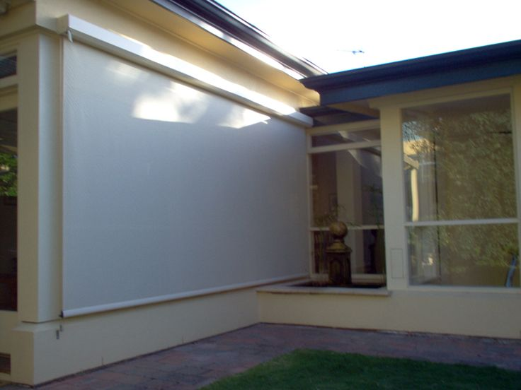 Exterior Wire Guide Roller Blinds