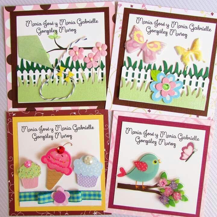 Tarjetas presentación personalizadas Facebook Crafts by Iris @craftsbyiris