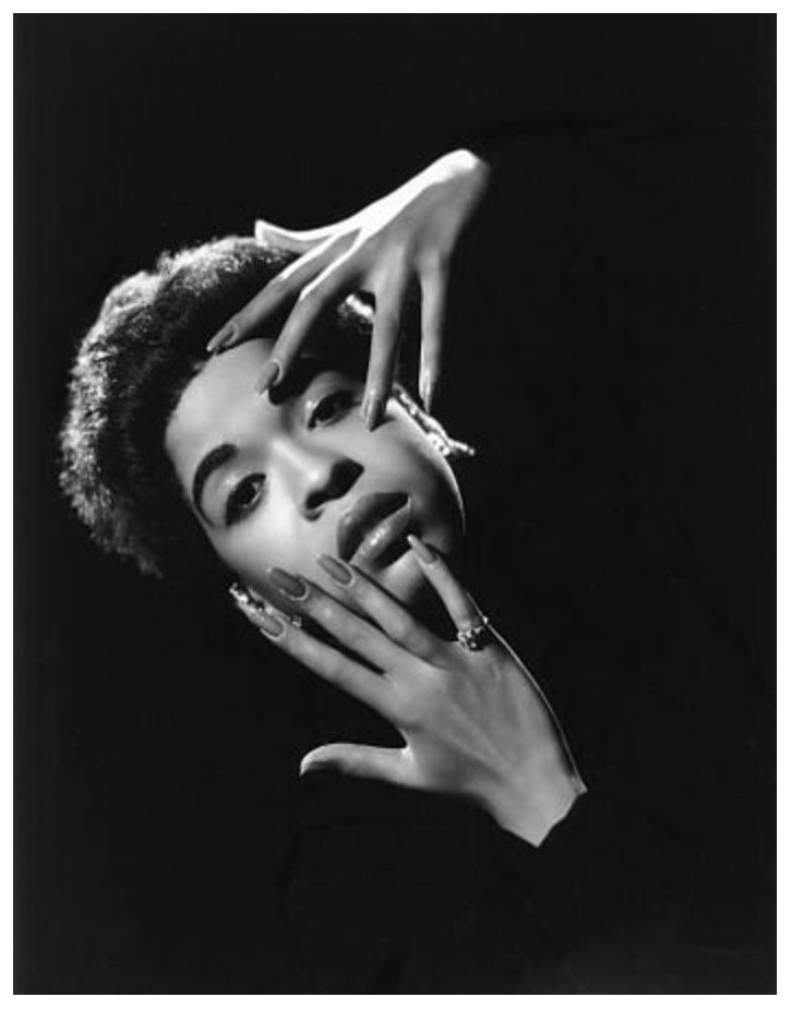 Singer and actress Della Reese