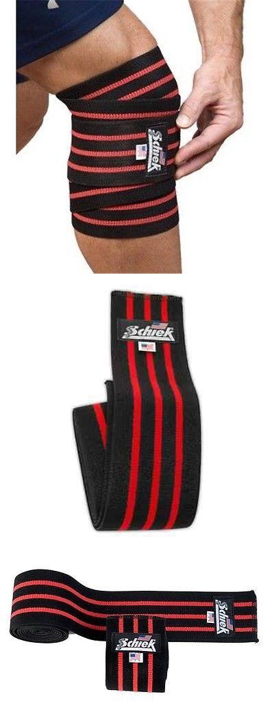 Wrist and Knee Wraps 179821: Schiek Knee Wraps 78 Heavy Duty Elastic One Pair - Model 1178 - Black Red -> BUY IT NOW ONLY: $32.95 on eBay!