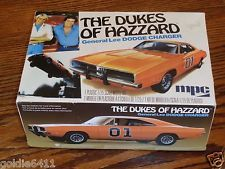 The Dukes Of Hazard General Lee Dodge Charger Model Kit 1/25 Scale