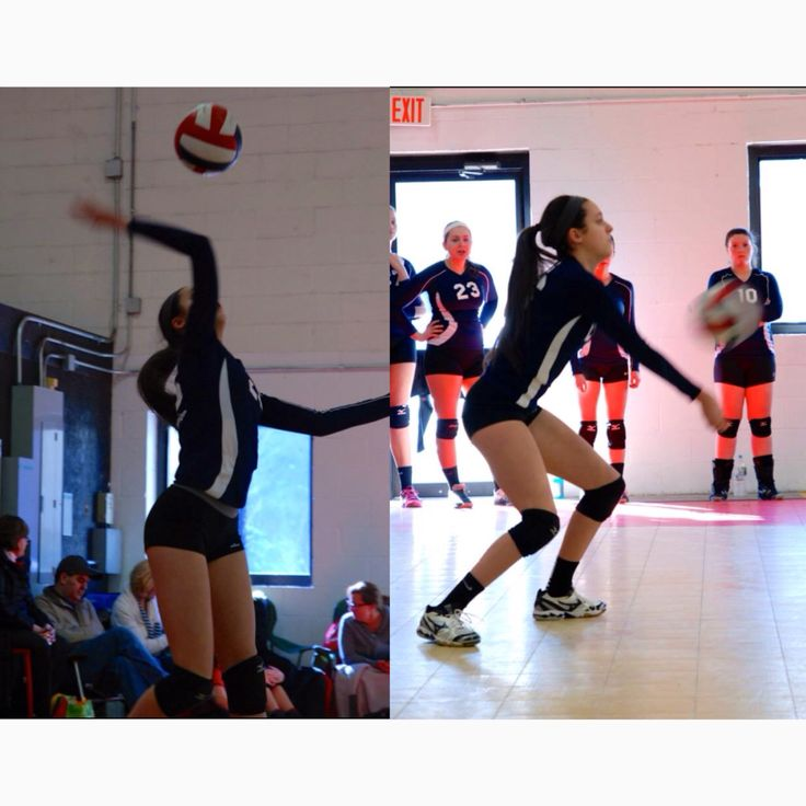 #4 Action shot with Molten ball: Couldn't decide between the two so I put both! Quite an awkward picture of my jump serve and then me passing :)