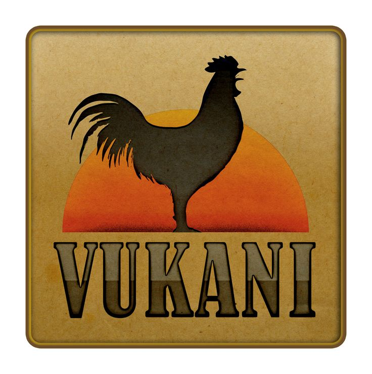 "Logo for a residential apartment complex. Vukani means ""rise and shine"" in Zulu"